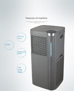 nano silver air purifier for new home use