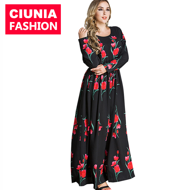 5080# Modest western style chiffon clothing morocco pleated long skirt latest designs abaya muslim dress arabic, As show