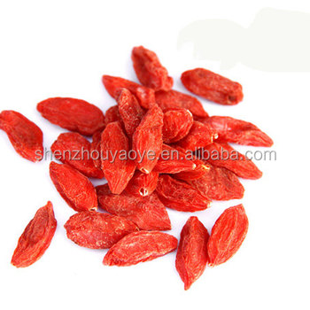Shenzhou Organic Goji Berries Noticeably Larger And Juicier