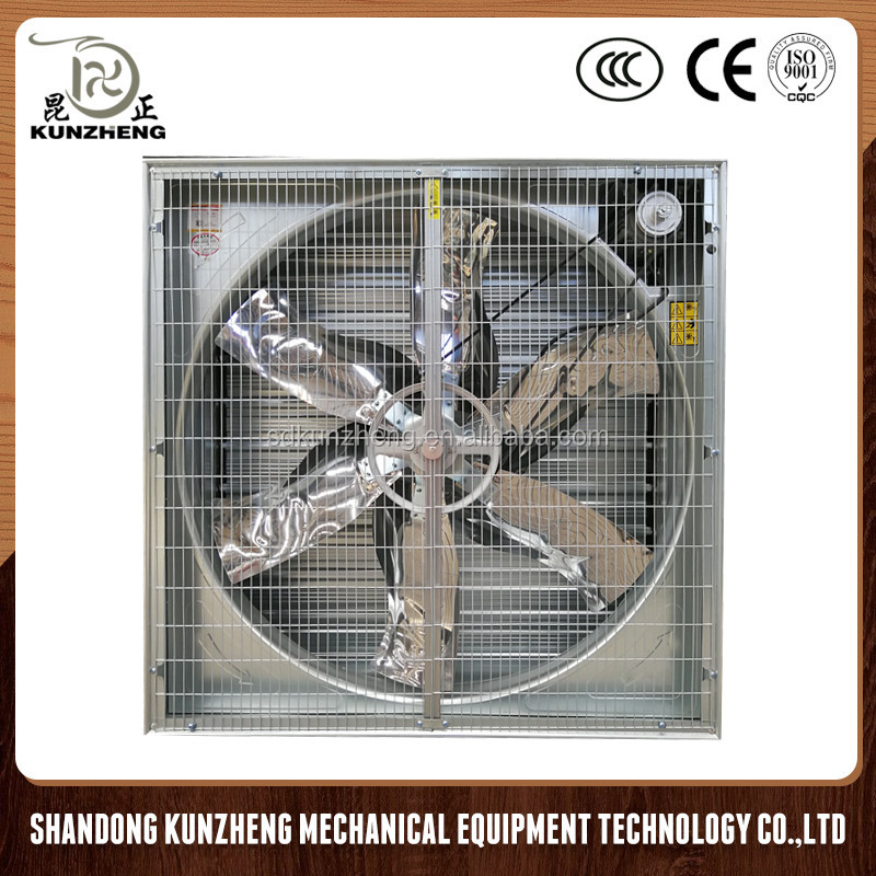 industrial exhaust fan push pull type ventilation exhaust fans poultry wall-mounted box fan