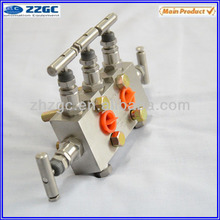 Professional industrial Five valve manifolds used in transmitter