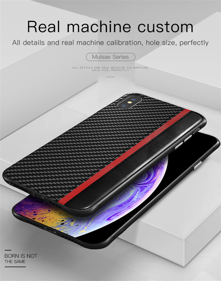 Für iPhone X XS XR XS MAX Leder Fall Mode Luxus Business Premium Weichen PU Leder Mobile Fall