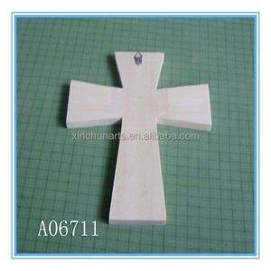 Various designs unfinished small wooden crosses wholesale