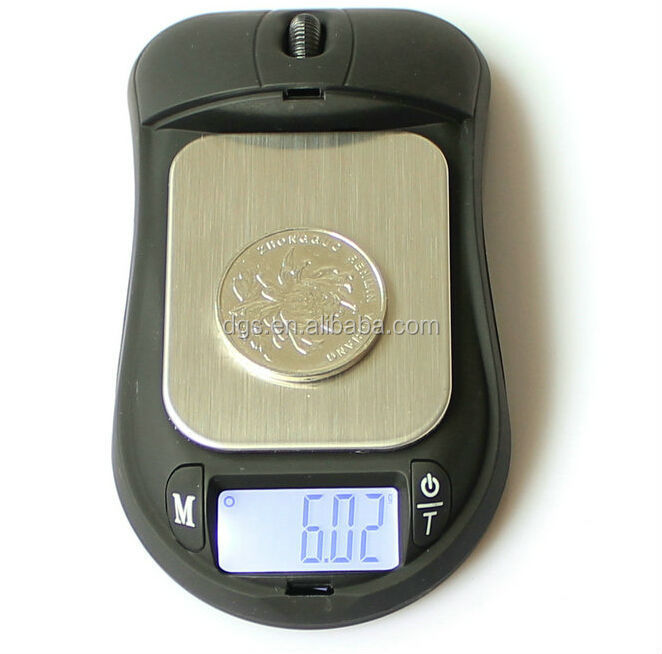 Portable electronic balance Mini Mouse Shaped digital weighing Scale Pocket Scale Digital scale