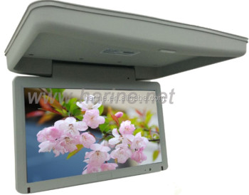 Bus Flat Screen 15.6 inch LCD advertising TV bus led monitor