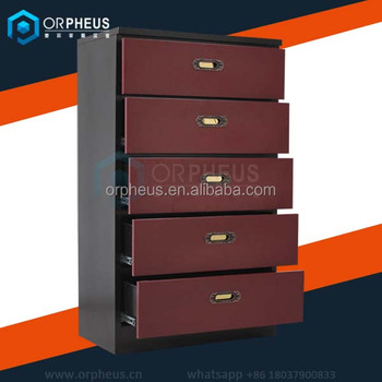 Modern 5 Drawer Dresser Red Wine Chest Furniture Of Canada