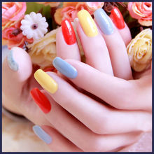 Fashion Candy Color Summer Popular Color Three Step UV Gel Nail Polish