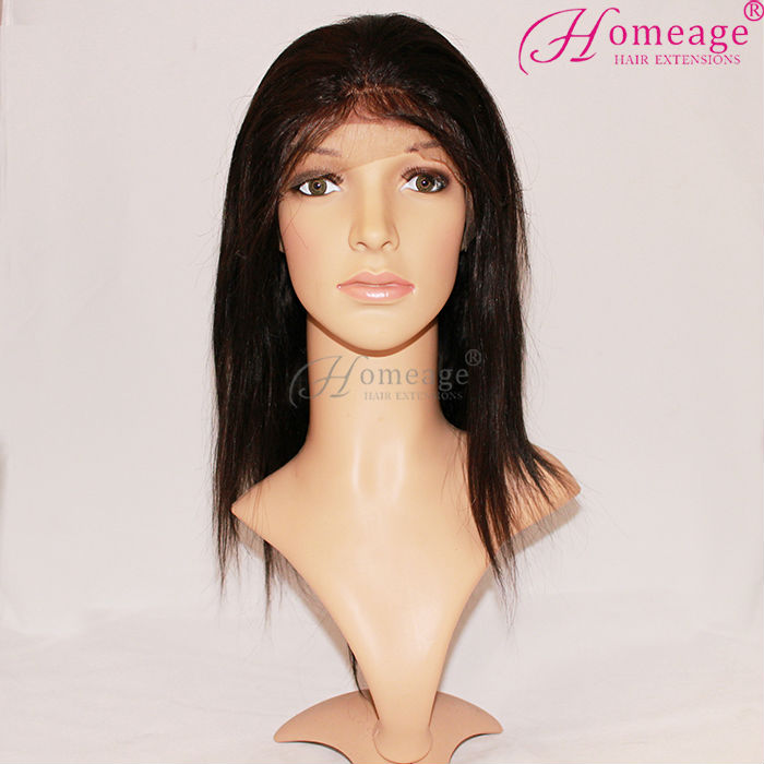 homeage hot straight lacefront wigs peruvian hair