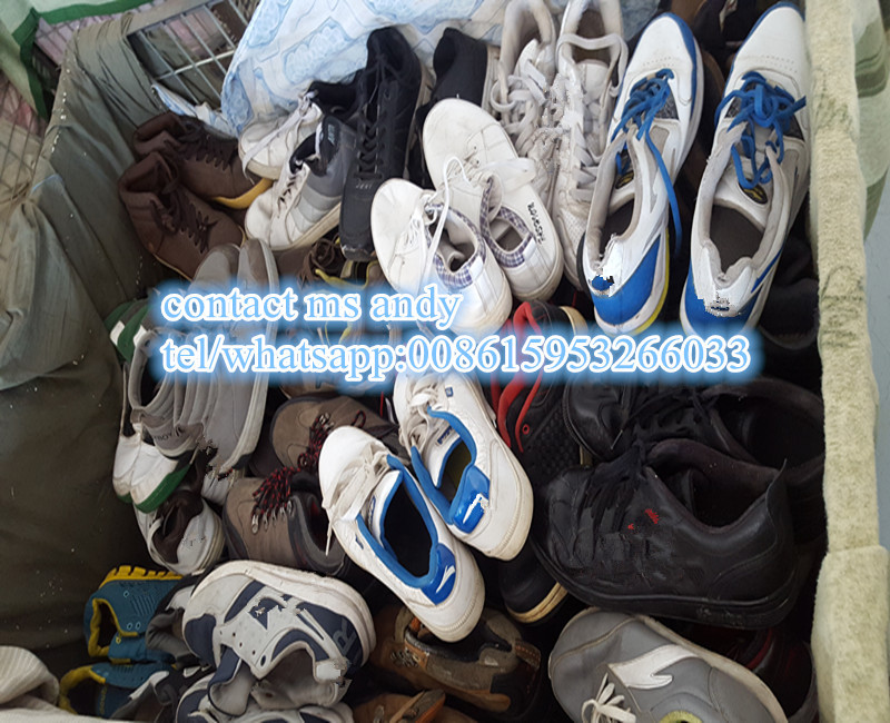 Used Shoes Clothing Mixed In Bales Tanzania