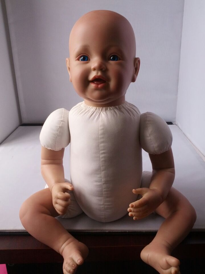 FASHION laughing so truly real baby dolls/sucking baby reborn doll kit/reborning doll kits and supplies