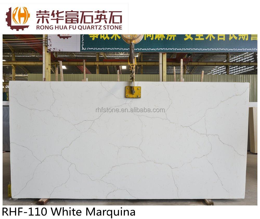 china encimeras de piedra de cuarzo blanco de interior decorativos para