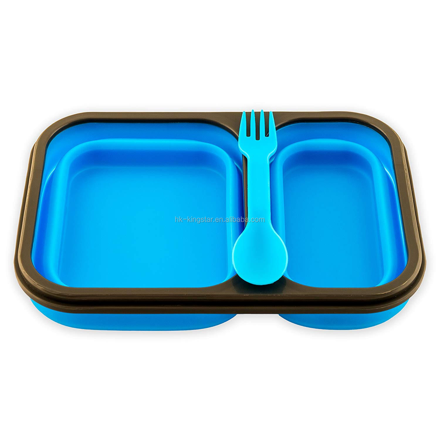 Wholesale  Collapsible  Silicone Lunch Box Food Storage Container