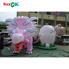 Hot sale large Triceratops inflatable dinosaur costume