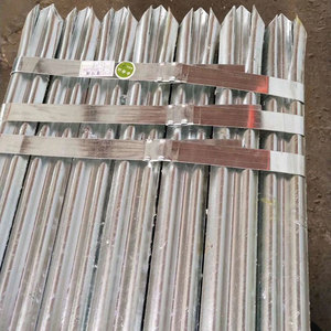 Hot Dipped Galvanized Steel Security Palisade Fencing Designs For Sales