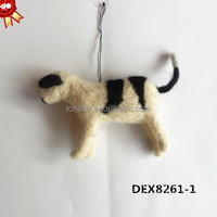 2015 Wholesale Christmas Crafts factory OEM christmas ornament Hanging Animals christmas ornament