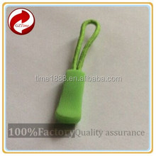 2015 GZ-Time Factory Customized supply garment pvc silicone slider elastic puller,supply elastic pvc silicone zipper pull