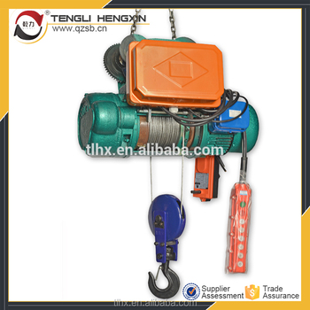 380v Construction Lifting Equipment Wire Rope Pulling Cable Cd Type ...