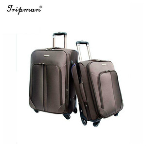 Cathylin hotel trolley luggage with built in clothes rack luggage with removable wheels royal polo luggage trolley case