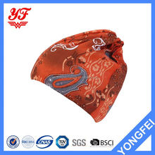 New selling OEM design sports elastic head scarf/bandana with many colors