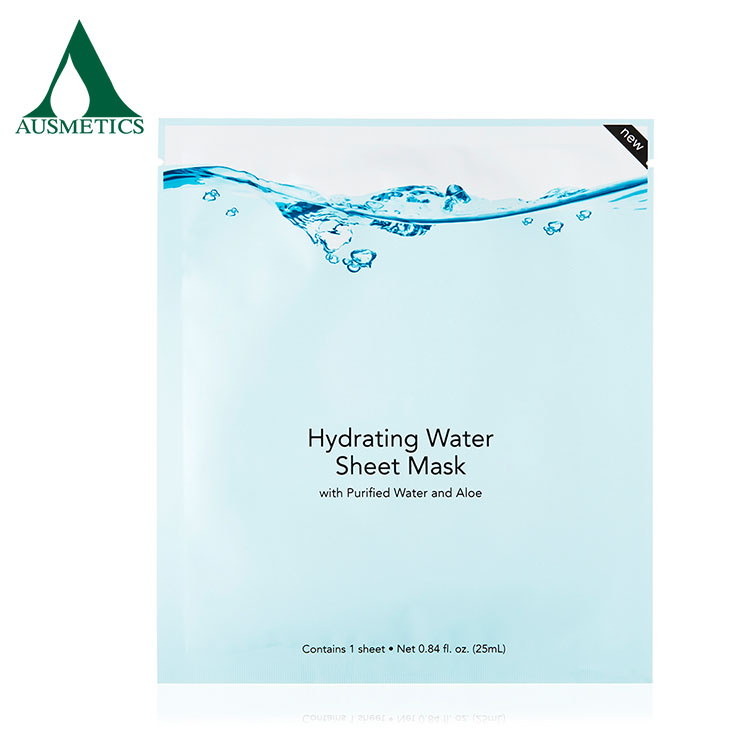 Best quality wholesale collagen crystal moisturizing facial mask sheet
