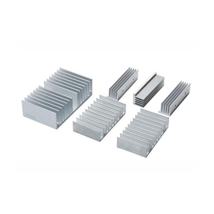 Big aluminum extrusion heat sinks with anodization 30 cm height