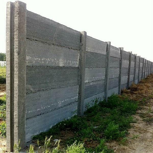 Idées de petites entreprises béton clôture avec panneaux de ...