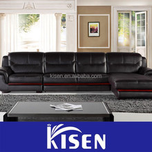 Classic english furniture modern leather leisure sofa