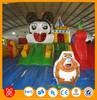 Best price playground inflatable slide, popular inflatable slide bouncer combo, giant commerical inflatable slide