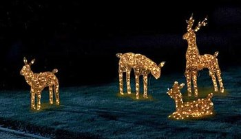3d Reindeer Family,Christmas Lights,Rope Light - Buy Christmas ...
