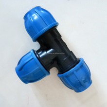 Factory supply hdpe/pp compressie fittings gelijk koppeling <span class=keywords><strong>reducer</strong></span>