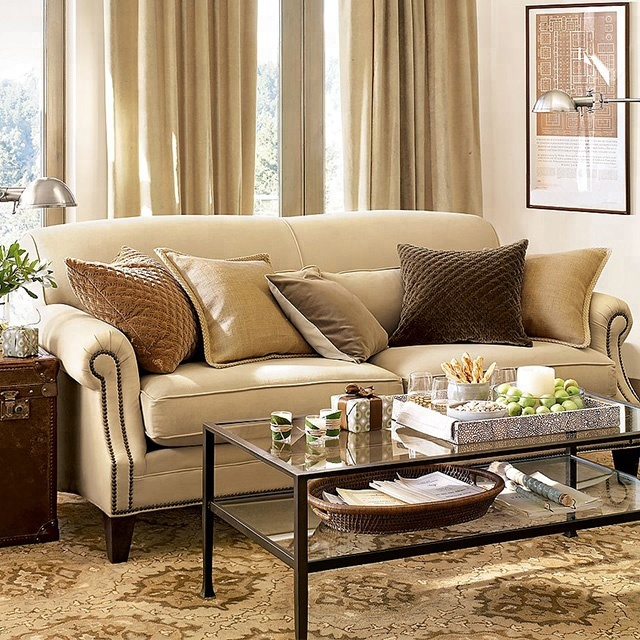 Seat En Sofa Bankstellen.Queenshome American 3 Seat New Model Style Design Good Fabric Bankstel Living Room Furniture Traditional Classic Sofa Sets Buy Divano Sofa Living