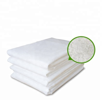 White Heavy Duty Corn Starch Biodegradable Garbage Bags Trash Bags