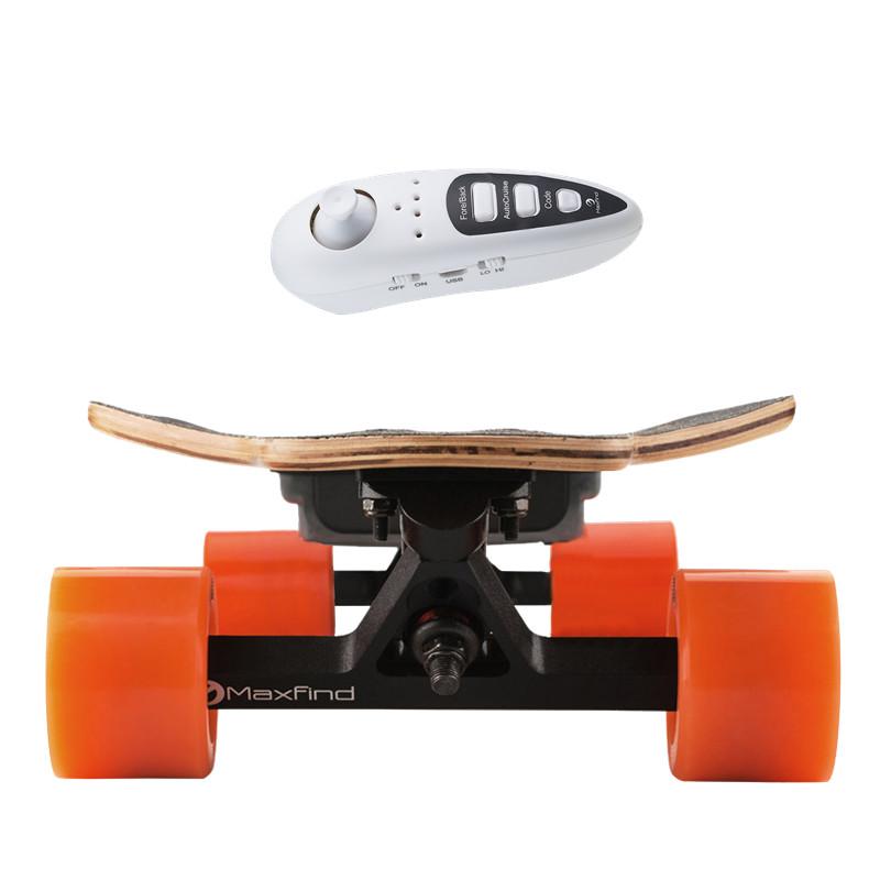 Maxfind electric longboard boosted electric skate electric skateboard 500w фото