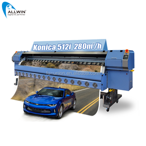 High Quality Allwin Digital Inkjet Printer KM512i Large Format Outdoor Printing Machine