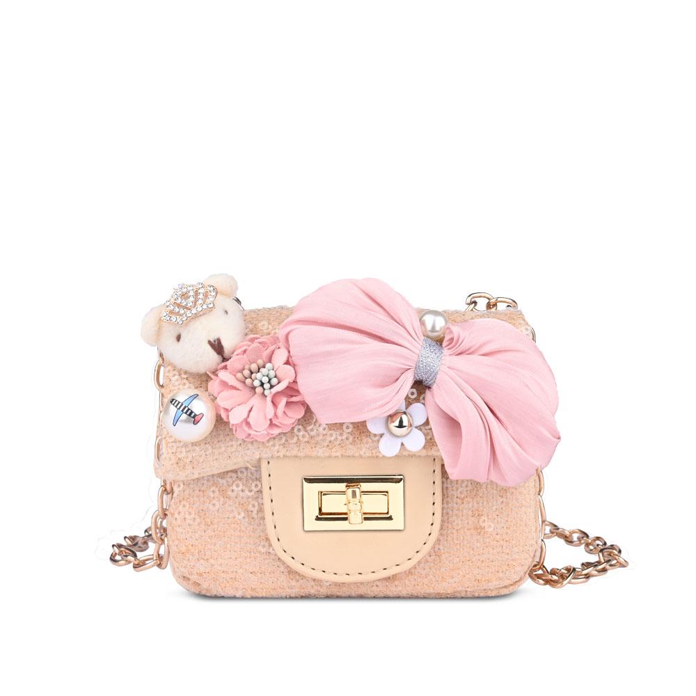 8e6457cba811 Оптовая продажа DIY подарок для маленьких девочек милые плеча прекрасный  стиль мини сумки детей