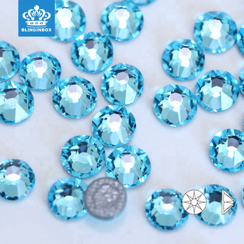 High quality flat back hotfix rhinestone gem stone with Germany glue hot fix rhinestone in bulk