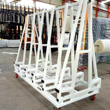 Factory price display stand scissor clamp stone lifter steel rack