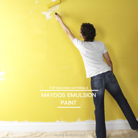 Washable interior acrylic latex wall emulsion paint