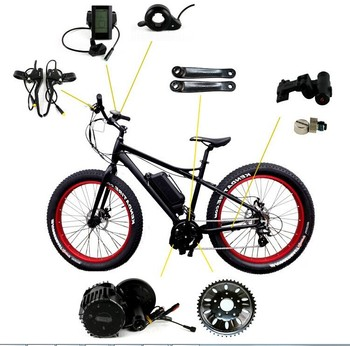 E Bike Electric Bicycle Spare Parts Electric Bicycle Conversion Kit