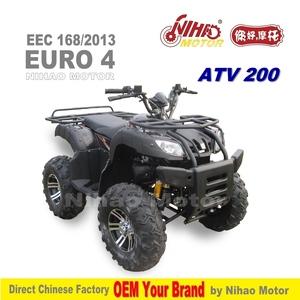 01 2019 EEC ATV 200 cc EURO4 Chinese QUAD BIKE 200cc OEM Road Leagl EURO 4  COC Utility CVT EFI differential chain drive