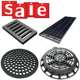 High performance heavy duty ductile iron manhole cover/cast iron drain grate/trench drain grating cover