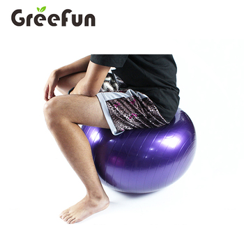 Multiple Sizes Exercise Ball for Fitness Stability Balance Yoga , Anti Burst Professional Yoga Ball Chair Birthing Balls