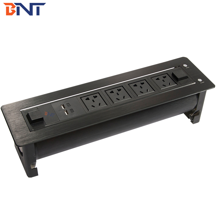 Swell Bnt 1 Piece Customize Available Electric Desk Cable Cubby Four Universal Power Plug 180 Degree Overturn Angle Ek6307 Buy Electric Desk Cable Pdpeps Interior Chair Design Pdpepsorg