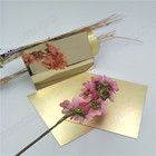 golden acrylic mirrored fiber plastic glass sheet