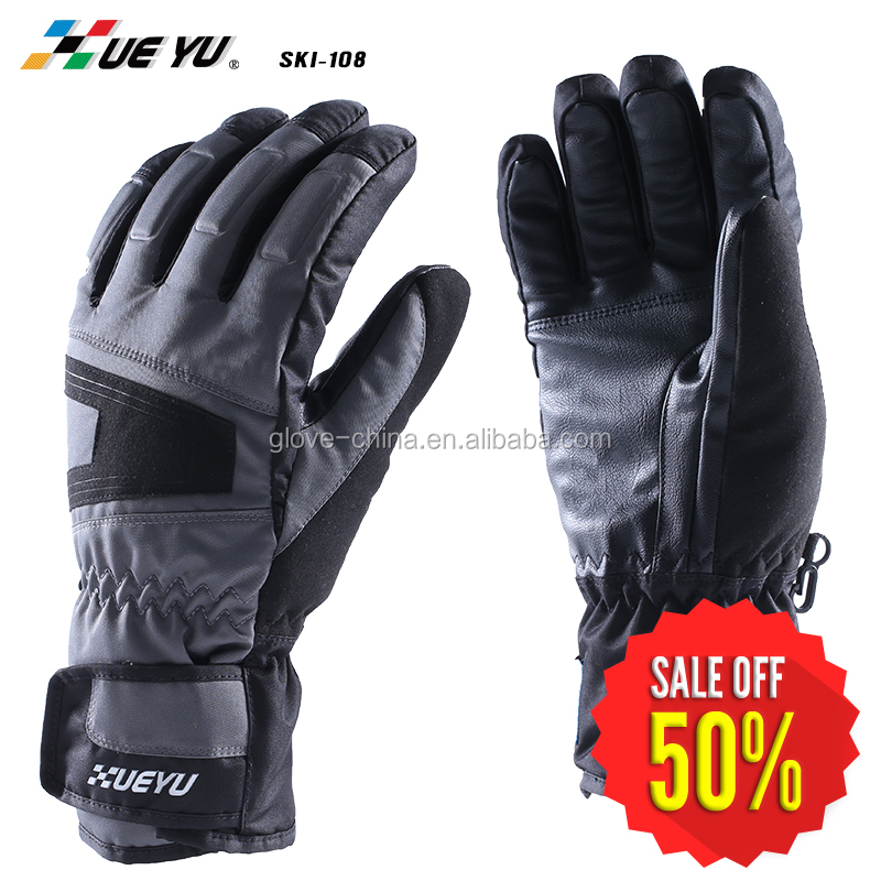 Men's Waterproof Neoprene Winter Outdoor Ski Gloves