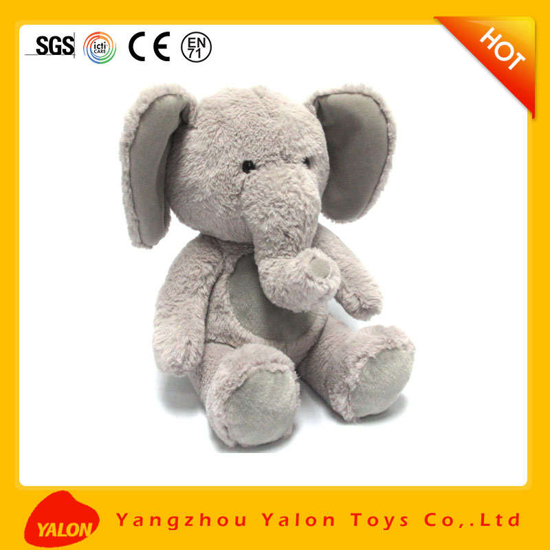 Huge stuffed Fast supplier plush and stuffed elephant toys with big ears