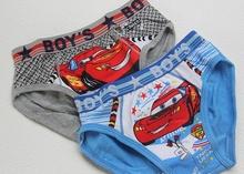 Wholesale 48pcs lot Children cartoon underwear Boy Briefs Kids thomas panties 12pcs lot can mix color