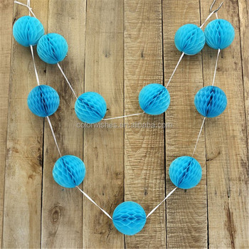 how to make tissue paper balls to hang Beautiful bridal shower tissue paper backdrop decoration easy and simple cool mint and gold paper hanging decoration for easy diy flower ball paper lantern.