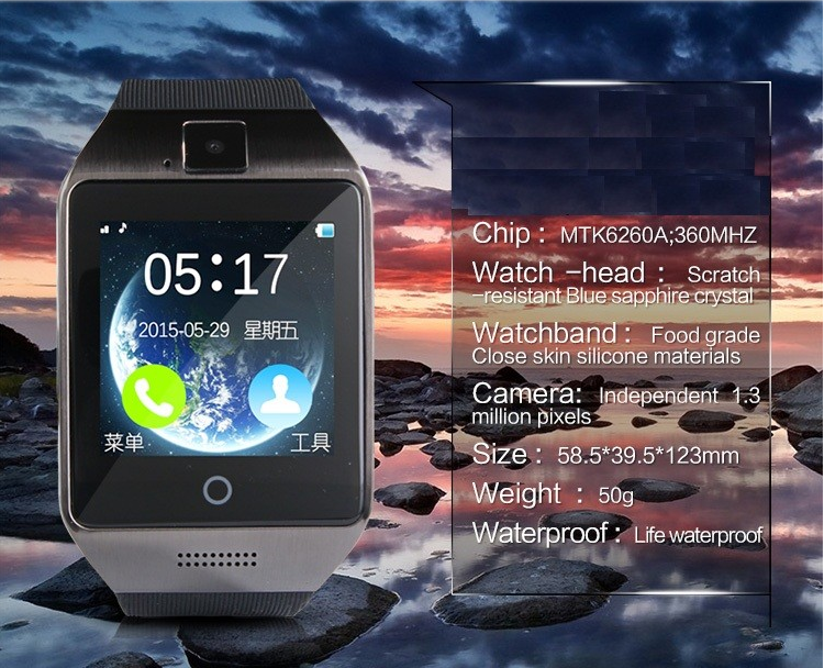 Factory Price Dz09 Smart Watch Sim Card Tf Card Bluetooth Function