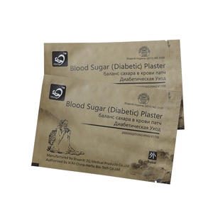 100%Natural herbal diabetes patch Health care product lowering blood sugar patch